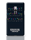 Stranger Things - Lights - Minimal OnePlus Two Covers Cases Online India
