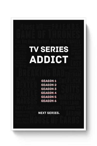 Buy TV Series Addict Poster