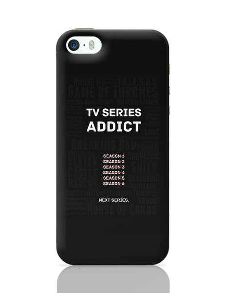TV Series Addict iPhone 5/5S Covers Cases Online India