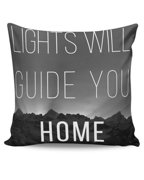 Coldplay - Lights Will Guide You Home Cushion Cover Online India