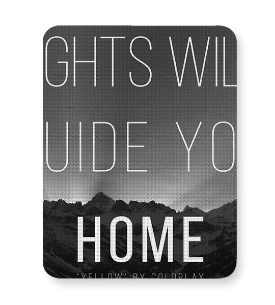 Coldplay - Lights Will Guide You Home Mousepad Online India