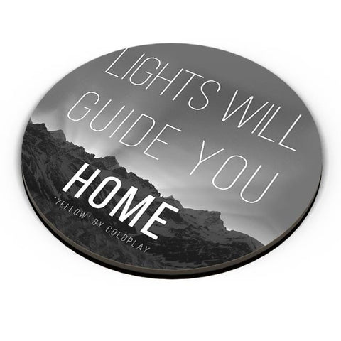 Coldplay - Lights Will Guide You Home Fridge Magnet Online India
