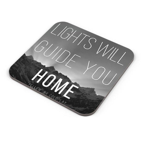 Coldplay - Lights Will Guide You Home Coaster Online India