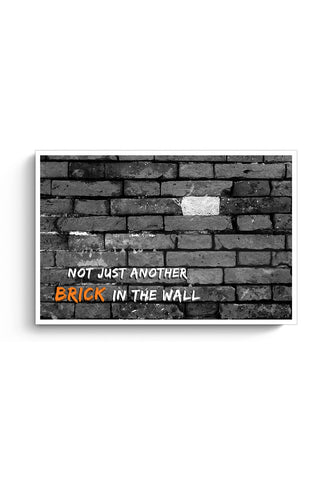 Not Another Brick in the Wall Poster Online India