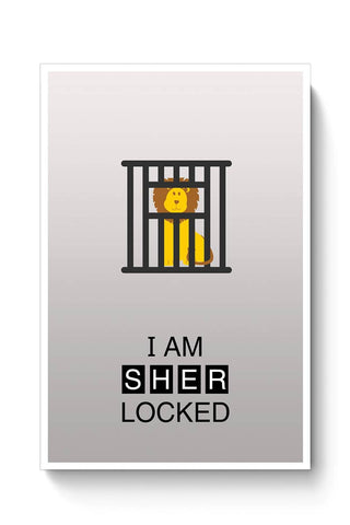 I Am Sher-locked Poster Online India