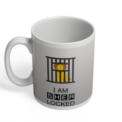 I Am Sher-locked Coffee Mug Online India