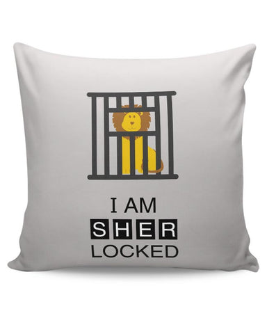 I Am Sher-locked Cushion Cover Online India