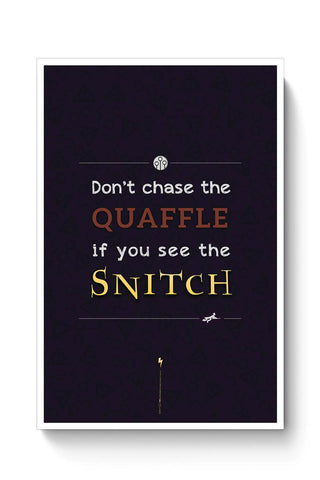 Buy Harry Potter Fandom - Quaffle and Snitch Poster
