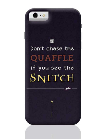 Harry Potter Fandom - Quaffle and Snitch iPhone 6 / 6S Covers Cases