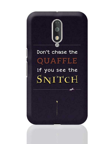 Harry Potter Fandom - Quaffle and Snitch Moto G4 Plus Online India