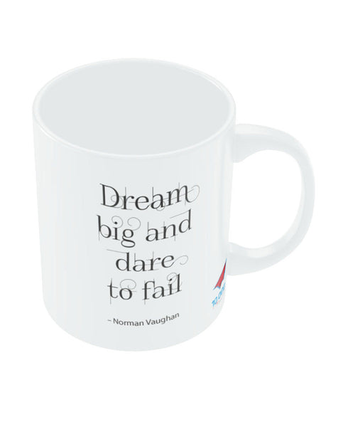 NASSCOM Dream Big Motivational Quote Mug