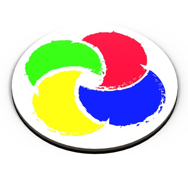 Buy Abstract Color Wheel Fridge Magnet Online India Posterguy