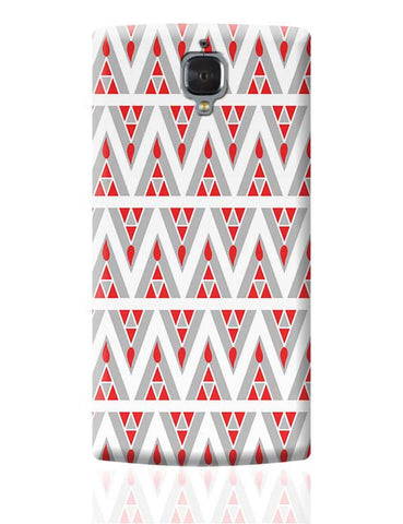 Triangles Ups and downs OnePlus 3 Covers Cases Online India