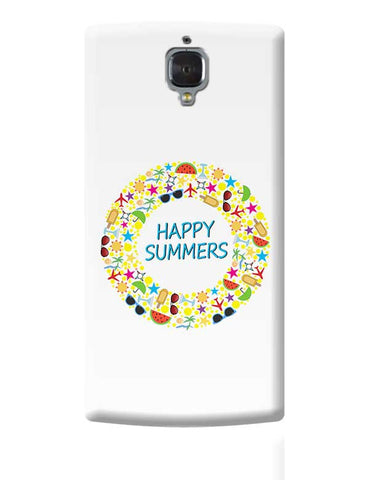 Summer Fiesta OnePlus 3 Covers Cases Online India