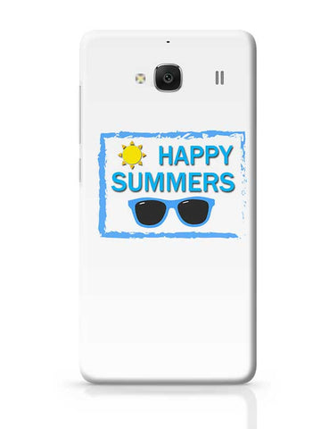 Happy Summers Redmi 2 / Redmi 2 Prime Covers Cases Online India