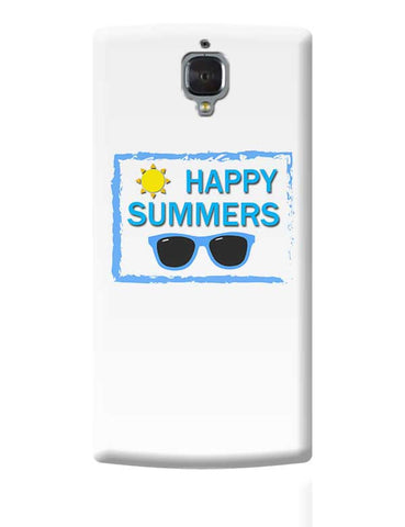 Happy Summers OnePlus 3 Covers Cases Online India