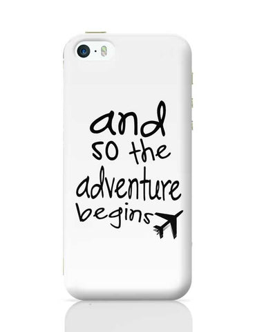 Adventure Begins iPhone 5/5S Covers Cases Online India