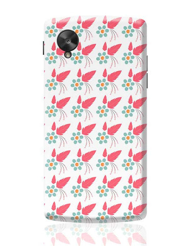 Floral Love Google Nexus 5 Covers Cases Online India