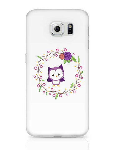Purple Owl  Samsung Galaxy S6 Covers Cases Online India