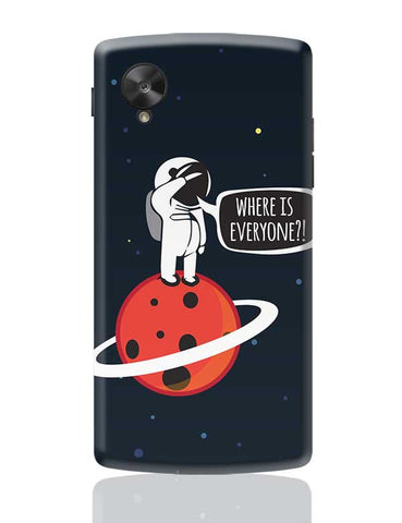 Astronaut In Space	 Google Nexus 5 Covers Cases Online India