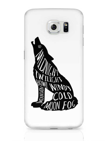Twilight Wolf Samsung Galaxy S6 Covers Cases Online India