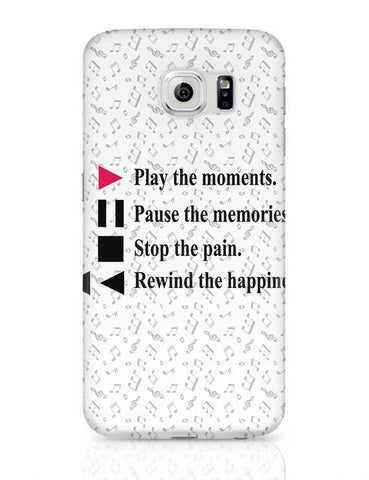 Life Is Like Music Samsung Galaxy S6 Covers Cases Online India