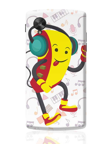 Robot Listening Music Google Nexus 5 Covers Cases Online India