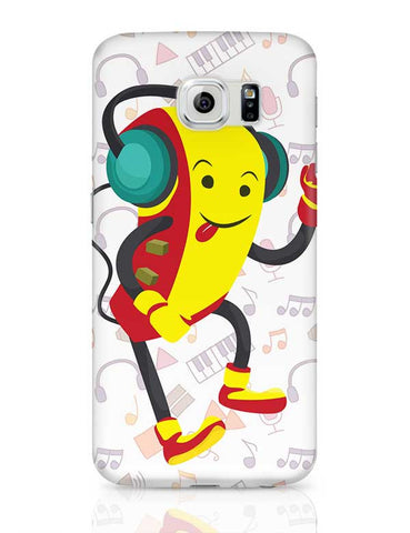 Robot Listening Music Samsung Galaxy S6 Covers Cases Online India