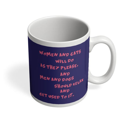 Women And Cats Coffee Mug Online India
