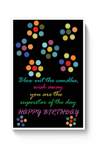 "Buy Superstar ""Happy Birthday"" Poster"