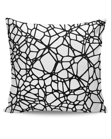 Abstract Trap Pattern Cushion Cover Online India
