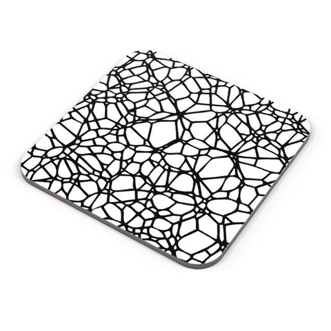 Abstract Trap Pattern Coaster Online India
