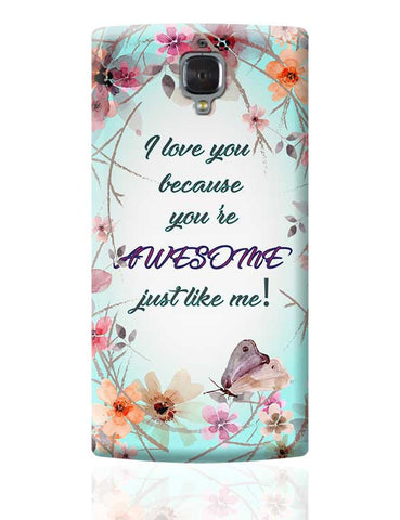 Awesome Just Like Me OnePlus 3 Covers Cases Online India