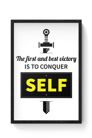 The Best Victory Framed Poster Online India