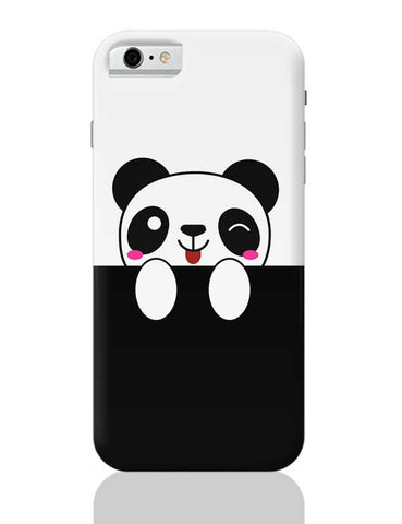 peek a boo  panda iPhone 6 / 6S Covers Cases