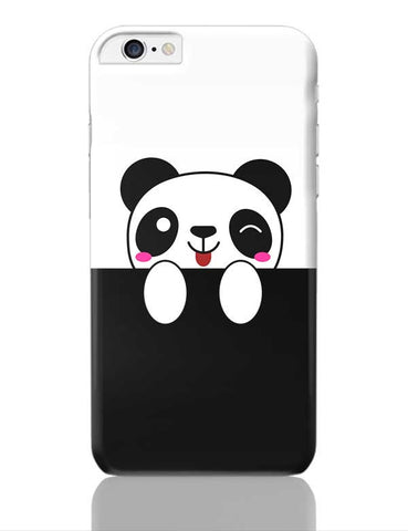 peek a boo  panda iPhone 6 Plus / 6S Plus Covers Cases Online India
