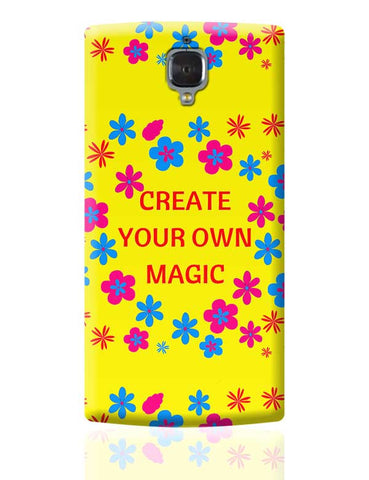create your own magic OnePlus 3 Covers Cases Online India