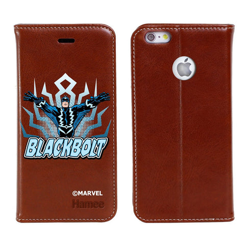 Blackbolt Brown Flip iPhone 6S/6 Case Cover