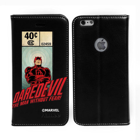 Daredevil Without Fear Black Flip iPhone 6S/6 Case Cover