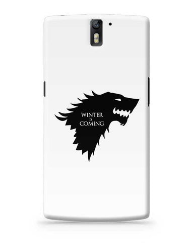 Winter is coming OnePlus One Covers Cases Online India
