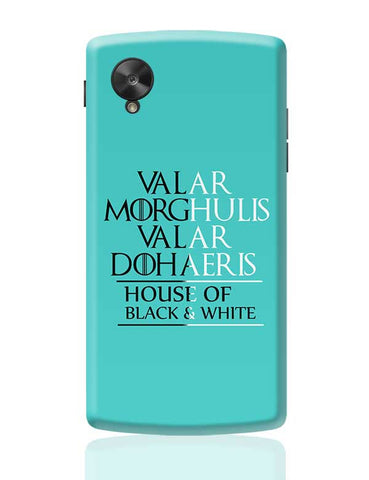 House Of Black And White Google Nexus 5 Covers Cases Online India