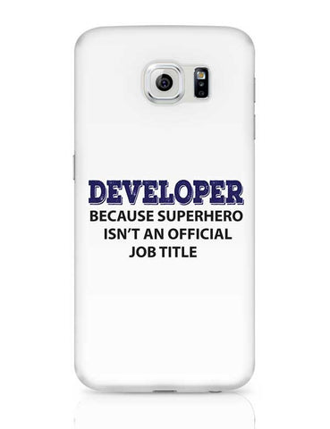 "Developer ""The SuperHero"" Samsung Galaxy S6 Covers Cases Online India"