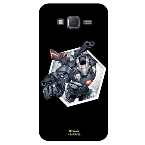 War Machine Hexagonblack  Samsung Galaxy J5 Case Cover
