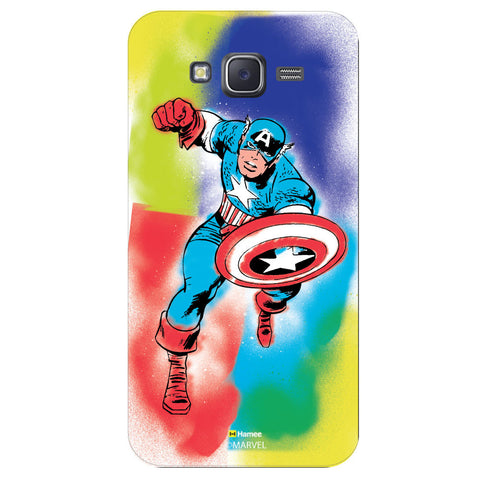 Captain America 1Black  Samsung Galaxy J5 Case Cover