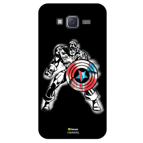 Captain America 2Black  Samsung Galaxy J5 Case Cover