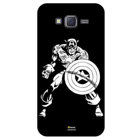 Captain America 3Black  Samsung Galaxy J5 Case Cover