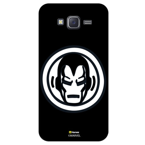 Iron Man Bedgeblack  Samsung Galaxy J5 Case Cover