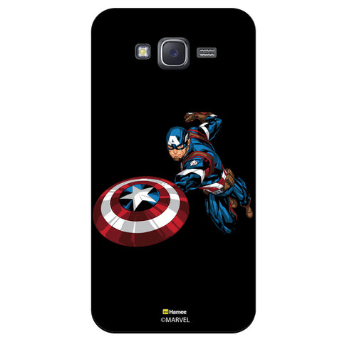 Captain America 5Black  Samsung Galaxy J5 Case Cover
