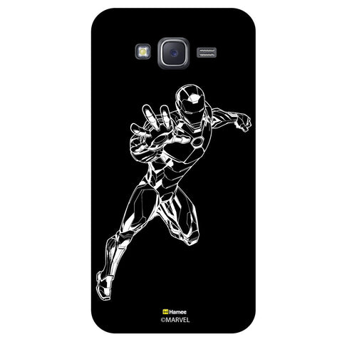 Iron Man 5Black  Samsung Galaxy J5 Case Cover