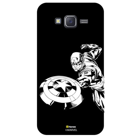 Captain America 6Black  Samsung Galaxy J5 Case Cover